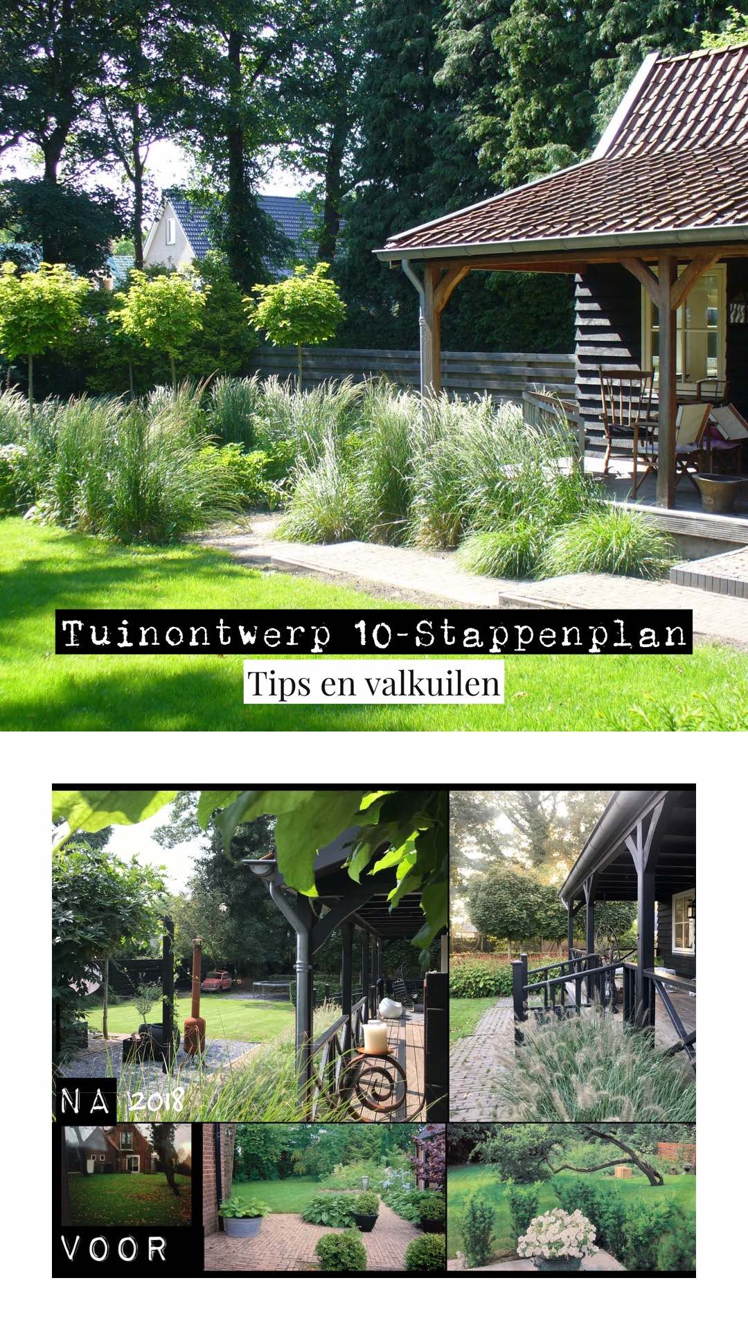 Tuinontwerpen,stappenplan, tips en valkuilen.