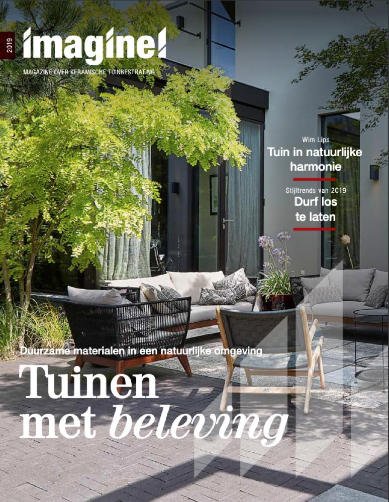 Onze tuin in een mooi magazine