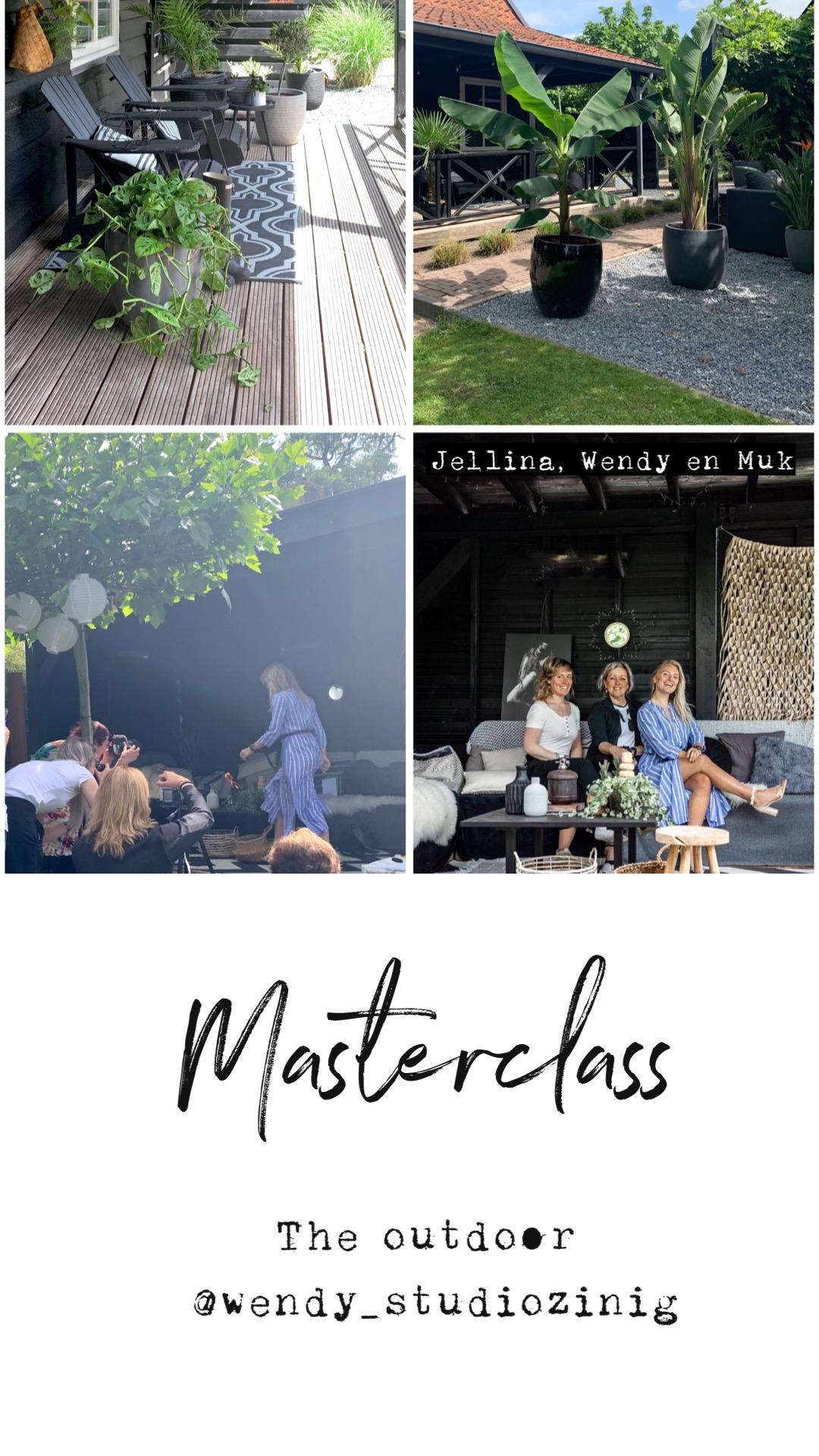 Masterclass outdoor @wendy_studiozinnig