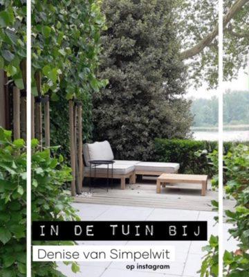 Blog in de tuin bij @sImpelwit