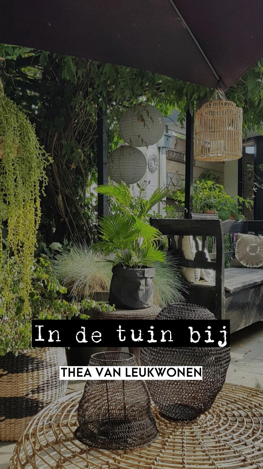 'In de tuin bij…'