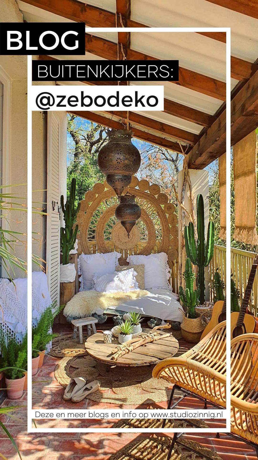 In de tuin bij… @zebodeko